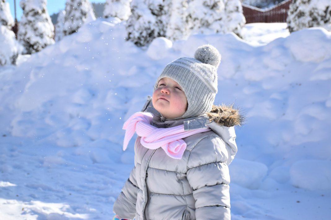 çocuk kış