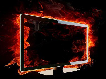 tv yangın